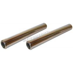 tube silencieux chromé 265mm