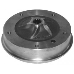 tambour de frein arrière T1 5 x 205 prévu pour machoires en 40 mm 68-