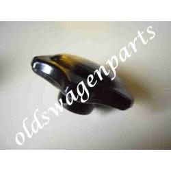 bouton de commande chauffage 52-7/64 ivoire (sur la poutre devant le frein à main)