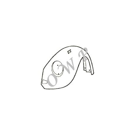 aile avant droite 1302-1303 -07/73 (avec trou de pate de pare-choc et trou de clignotant))