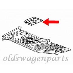 demi-plancher complet droit 1200-1303 8/73- (avec dôme et glissières)