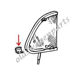 patte de pivot chromée de déflecteur droit 56-64