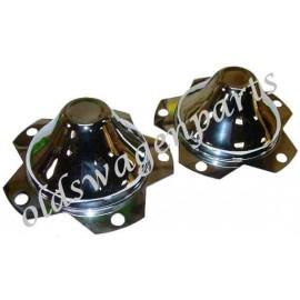 cache moyeu en acier chromé diamètre 80mm applicable sur les jantes 4 trous de type triangular,proline et centerline