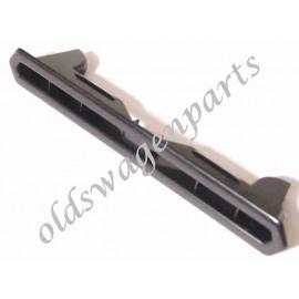 grille de tableau de bord en acier chromé pour ovale