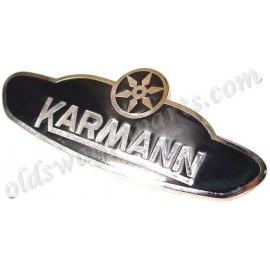 écusson KARMANN pour cabriolet 61-79