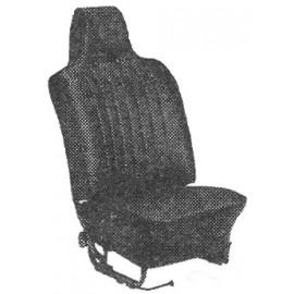 kit housses de sièges gris clair cabriolet 68-69 avec appuis-tête