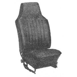 kit housses de sièges gris clair cabriolet 68-72 sans appuis-tête