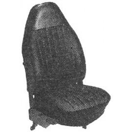 kit housses de sièges noir cabriolet 73 avec appuis-tête