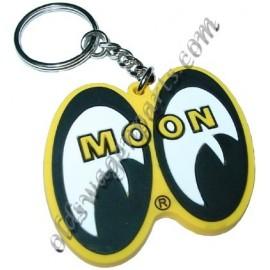 porte-clés MOON avec les yeux blanc