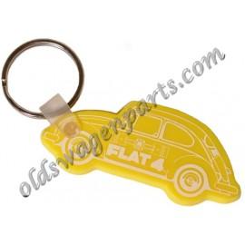 porte-clés FLAT 4 rouge