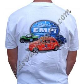 "tee-shirt ""EMPI American Classic"" orange taille XXL"