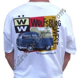 """tee-shirt """" WOLFSBURG WEST BUG"""" taille XXL"""
