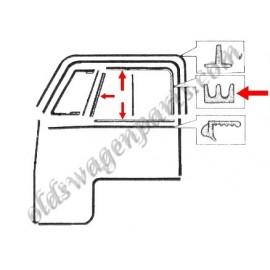 joints (2) d'étanchéite du cadre de vitre de porte T2 50-67