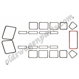 joints (2) de vitre d'angle T2 23 fenêtres 51-63