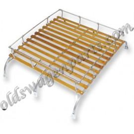 galerie de toit avec lattes en bois pour T2 50-79