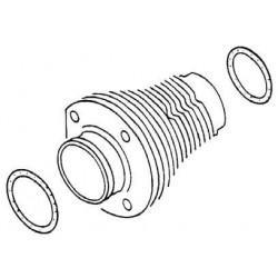 """set de 4 schims de haut de cylindre en acier 85,5 mm épaisseur 1mm (0,04"""")"""