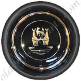 bouton de klaxon blanc siglé WOLFSBURG -67