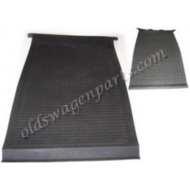set de 2 cartons noirs devant le pédalier 71-79