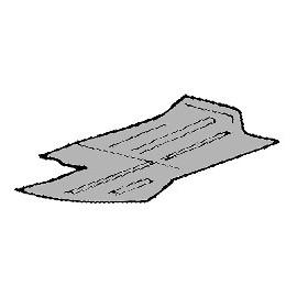 tôle de réparation de plancher de cabine gauche T2 68-72