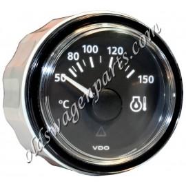 température d'huile 0-150°C diam 52mm fond noir VDO