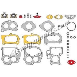 pochette universelle de réparation de carburateur SOLEX/PIERBURG Golf 1 et 2