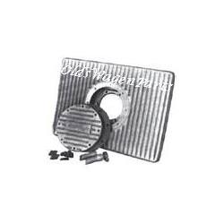 carter d'huile extra plat avec filtre Cbperf 2L (L38cm,H 6cm,l 27cm)