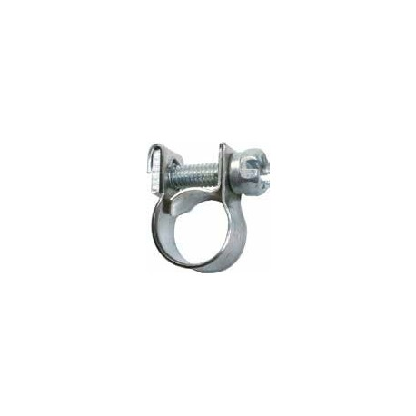 collier inox 9-11mm pour durite d'essence SERRAGE FEUILLARD