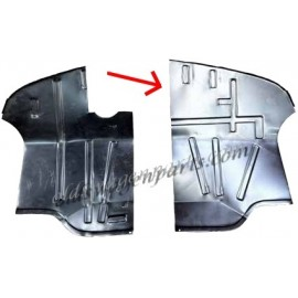 tôle de réparation de plancher de cabine droit T2 73-79