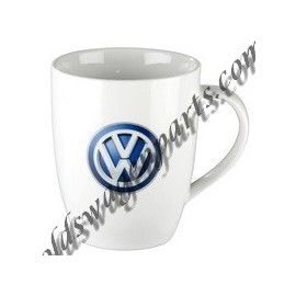 mug logo VW blanc émaillé