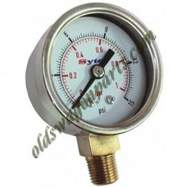 mano de pression d'essence 1,5-15psi pour filtre réf U120551