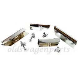 set de 2 ferrures arrière chromées 1200 -7/73 et 1300 -7/67
