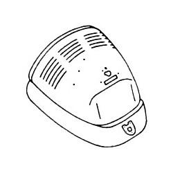 capot arrière 1200 -7/71 lisse