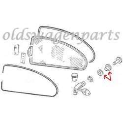mécanisme d'ouverture de pop out droit 8/64- bouton blanc