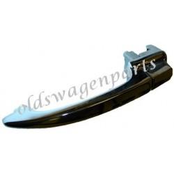 poignée de porte gauche 8/59-7/65 (avec clefs) pour cox sans loquet de verrouillage de porte
