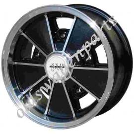 jante BRM FLAT4 noire pour New Beetle 5 x 100 17'' OFFSET + 40