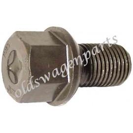 boulon de roue d'origine à appui bombé -7/67 (12x1,5) longueur de filetage 12mm tête 19mm
