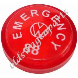 pastille de bouton d'interrupteur de warning 7/67-