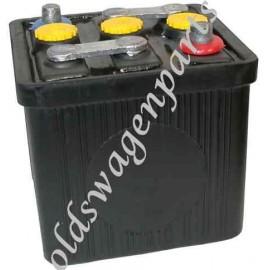 batterie 6Volts noire (livrée sans acide)