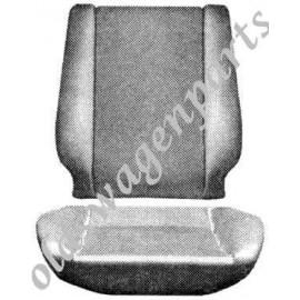 mousses de réparation de siège assise et dossier 56-64