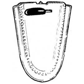 rétroviseur intérieur cabriolet 8/67-