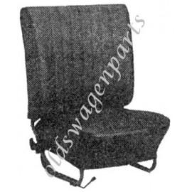 kit housses de sièges gris clair cabriolet 65-67 sans appuis-tête