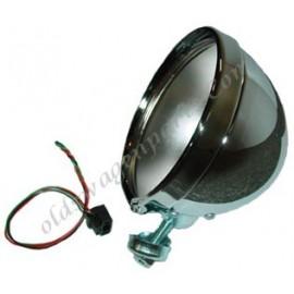 """phare H4 diam 7"""" pour ampoule à culot H4 emplacement pour la veilleuse prévu"""
