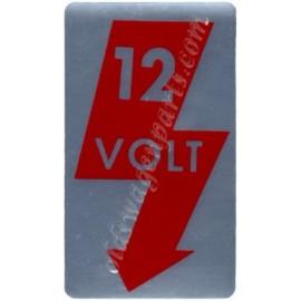 autocollant de montant de porte 12V
