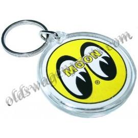 porte-clés MOON avec les yeux jaune