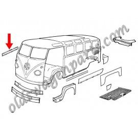 tôle de réparation de plancher de cabine droit T2 -67