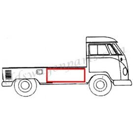 joint de capot de chargement latéral T2 pick up simple cabine -67