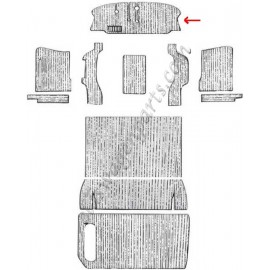 moquette noire avant 55-59