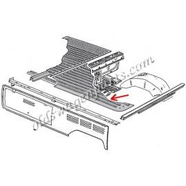 plancher de benne derrière la cabine pick-up (1663x1140mm)