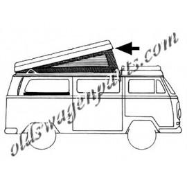 joint de toit ouvrant westfalia T2 74-79