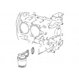 joint de pied de radiateur d'huile T4